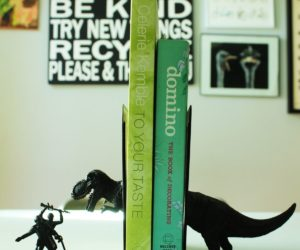 Fast and Fun: DIY Bookends to Make You Smile