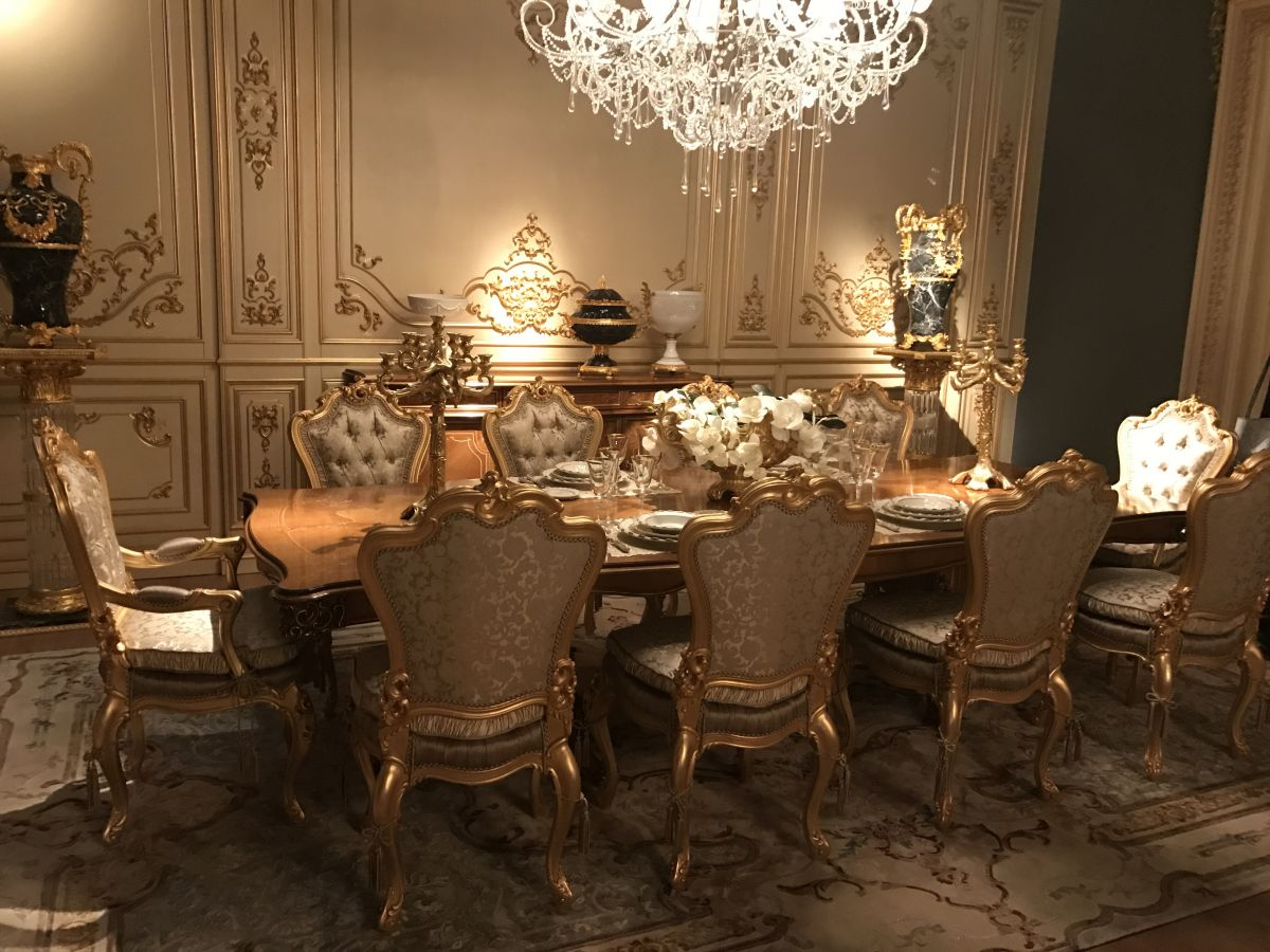 10 Luxury Dining Rooms With Inspiring Baroque Style