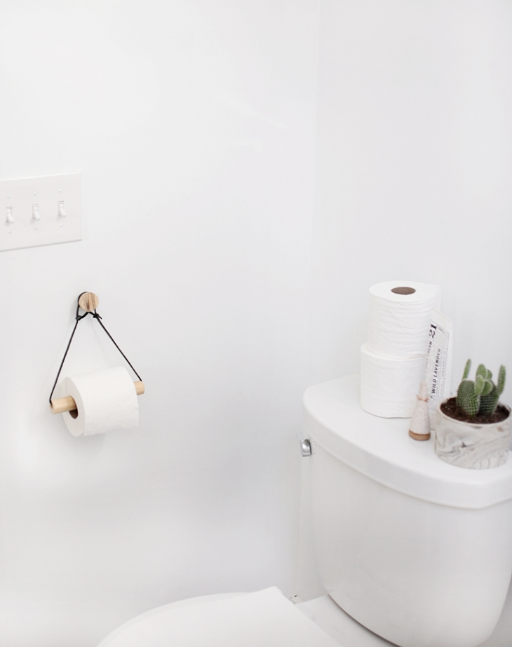 The Toilet Paper Holder - An Unexpected Source Of Beauty In