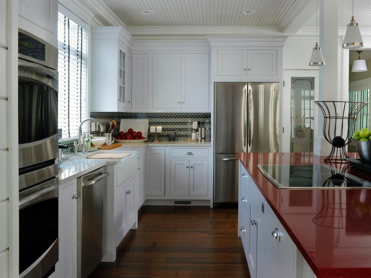 The New Countertop Contender - Red countertop