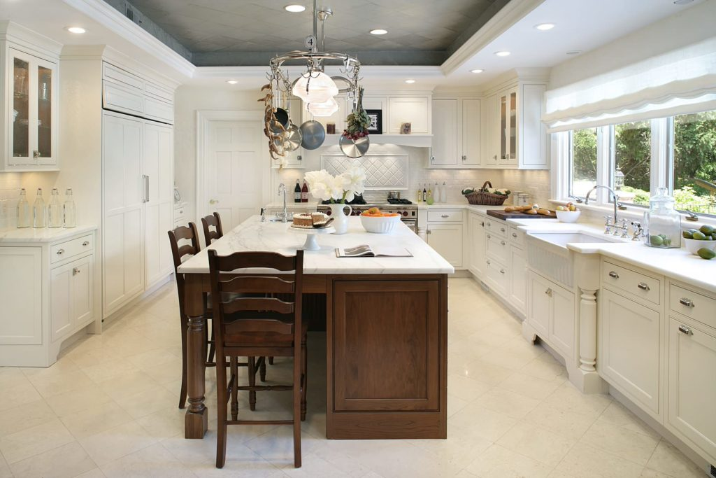 Most popular types of ceilings