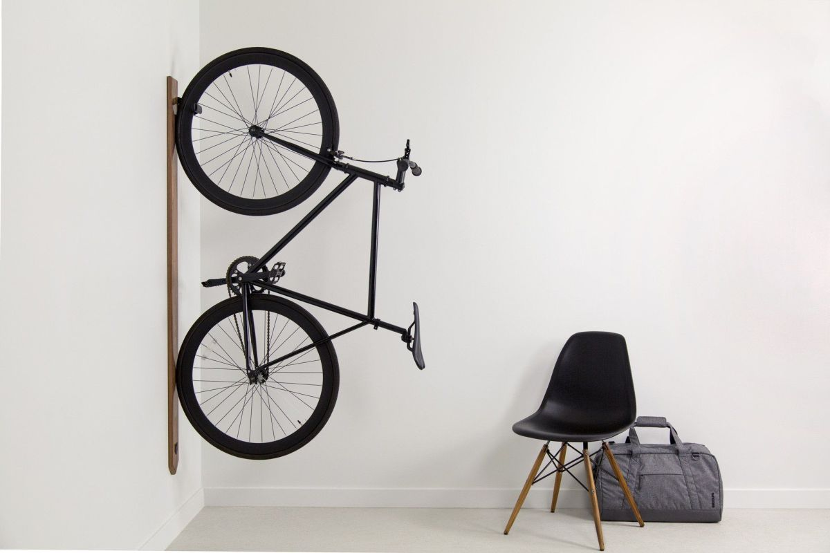 Attractive Wall Mounted Bike Racks That Look Great While Being Practical DP95