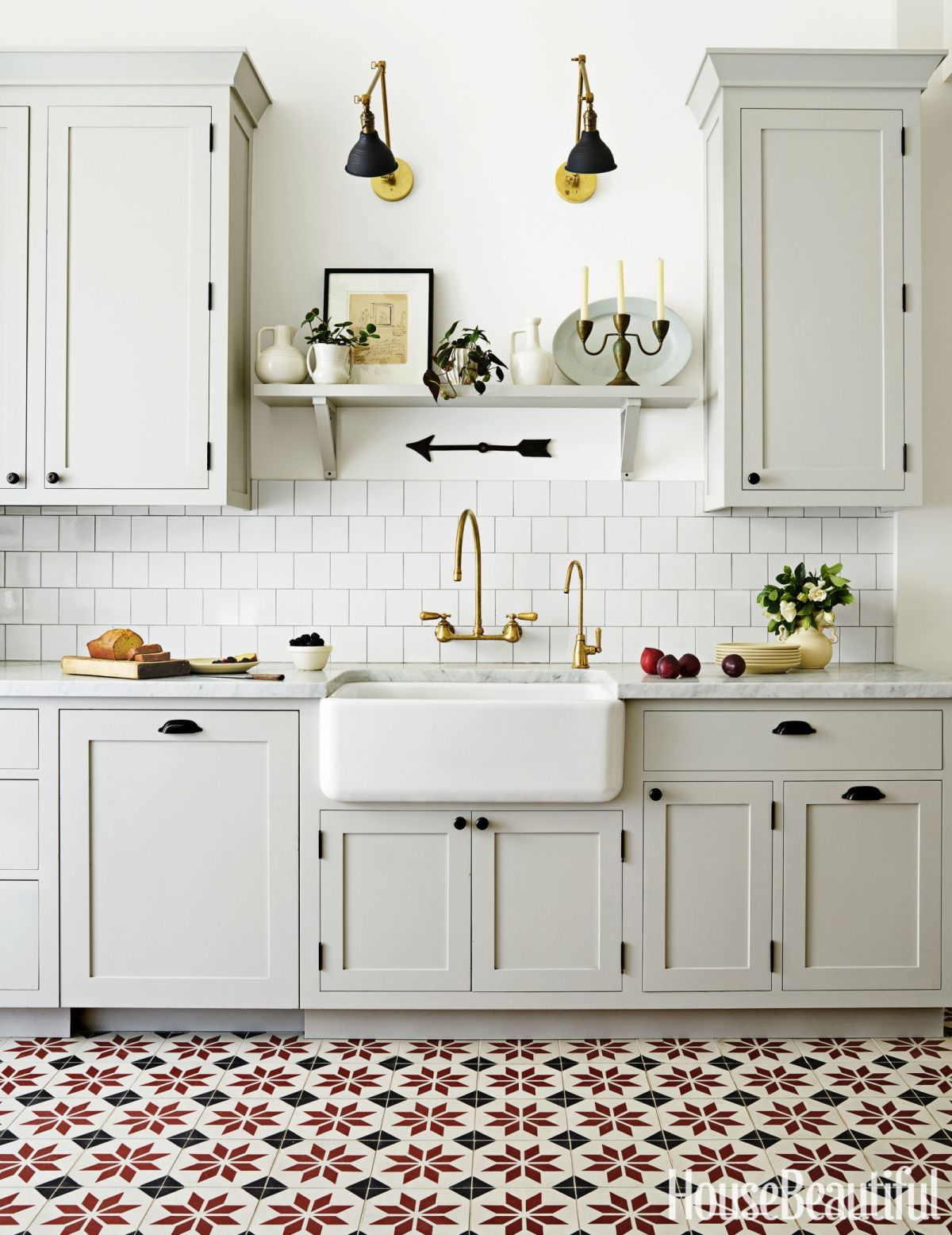 18 beautiful examples of kitchen floor tile view in gallery dailygadgetfo Gallery