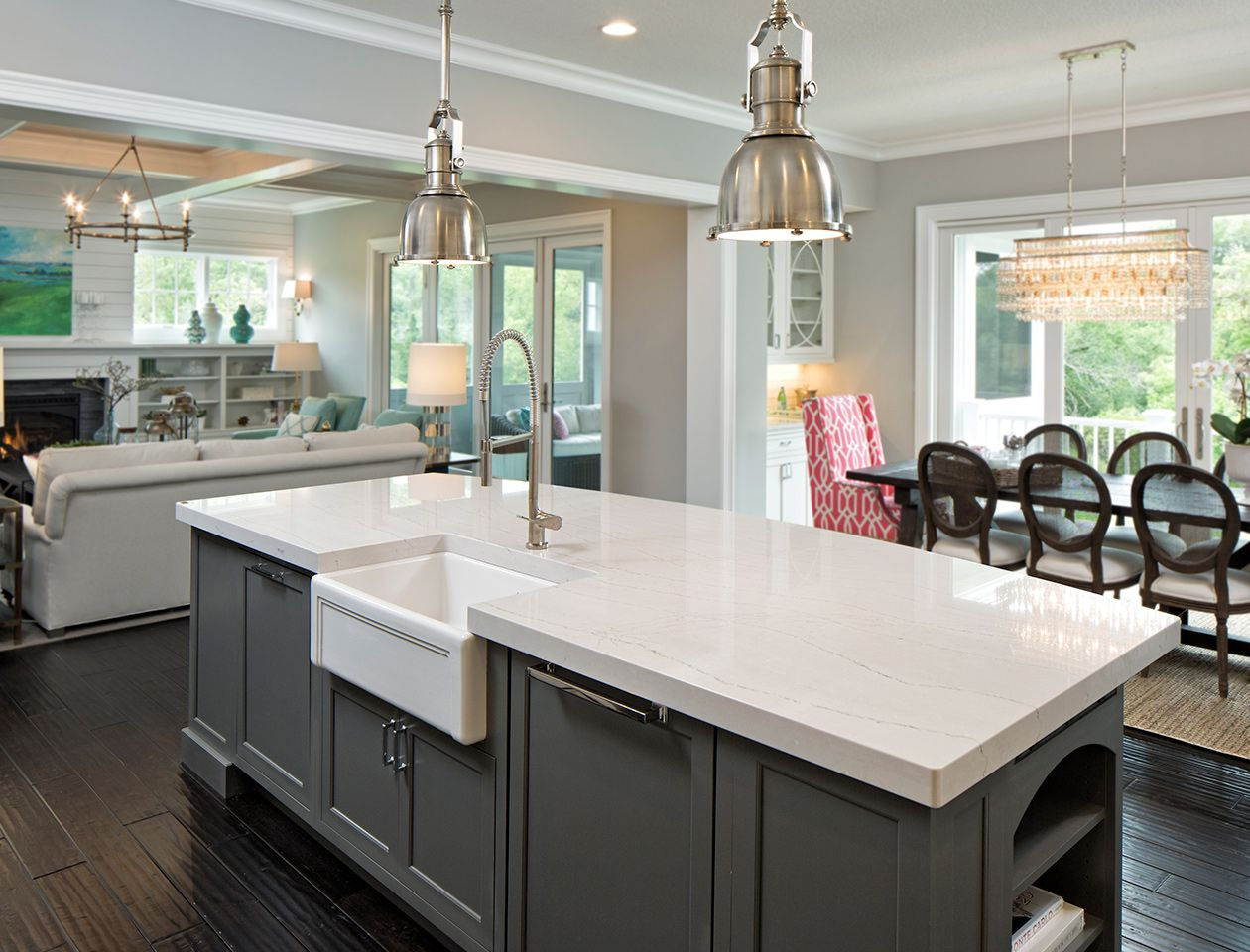 White Quartz Countertops : Stunning quartz countertop colors to gather inspiration