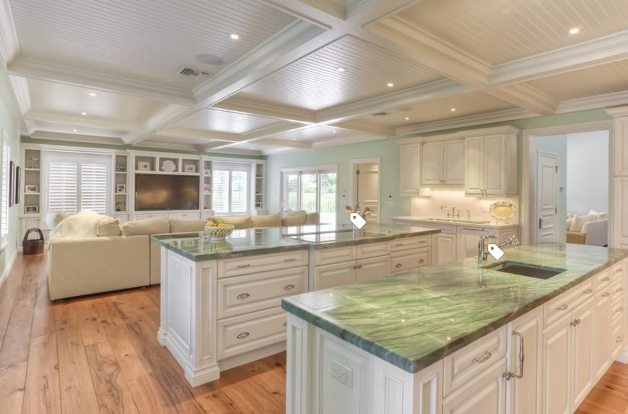 View In Gallery Mint Green Quartz Countertops
