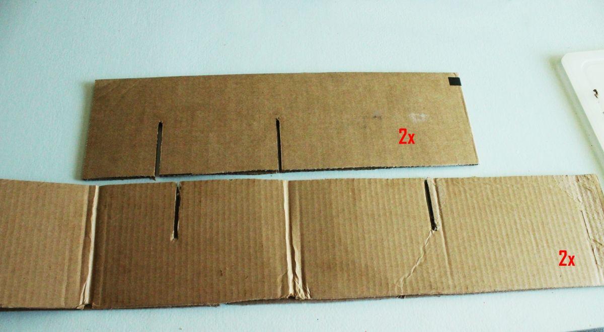 how to straighten cardboard