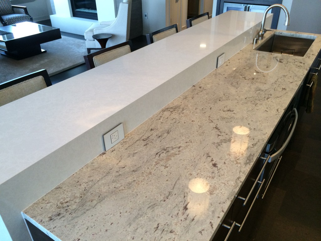 15 stunning quartz countertop colors to gather inspiration from - Pictures of kitchens with quartz countertops ...