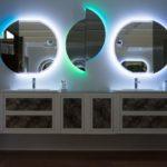 Baden Haus Bathroom furniture - LED light mirrors