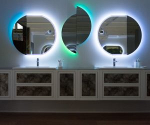 Baden Haus Bathroom furniture - LED light mirrors
