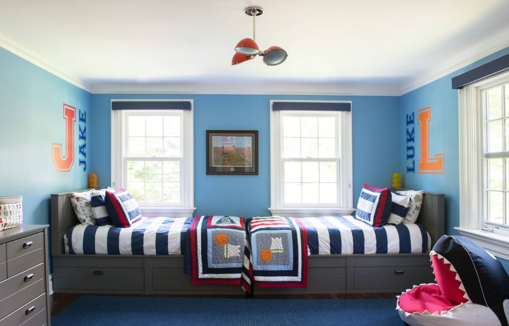 Simple Ways To Make Twin Beds For Boys Look Cozy