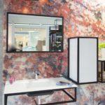 Bathroom Tile design from 0 Glasspoint Krzemien ready made mosaic pattern