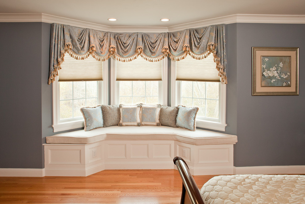 Bay Window Bedroom 10 bay window treatments to ponder for your panes