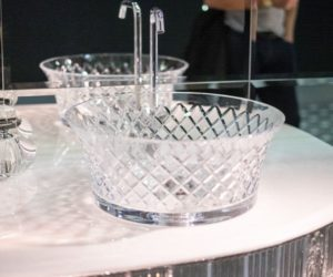 Bianchini and Capponi Crystal Bathroom Washbasin