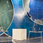 Blue premium-quality glass mosaic from TREND