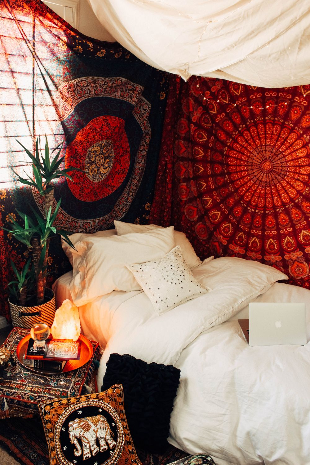 Urban Outfitters Tapestry Red