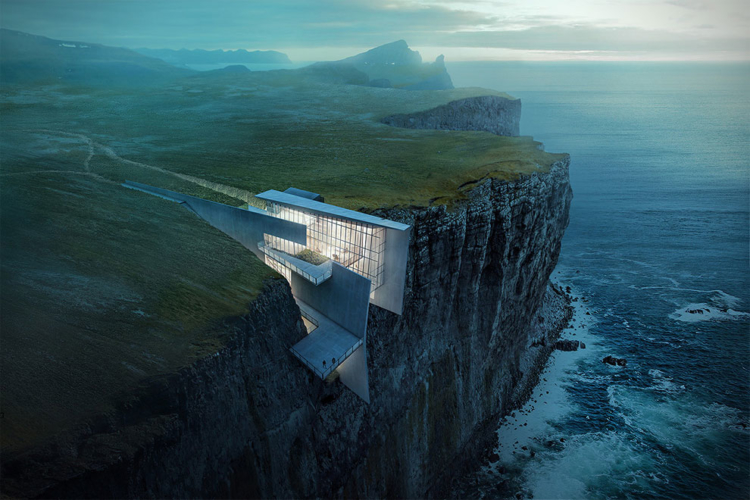 12 Fantastic Concept Designs That Take Architecture To New Heights - Fantastic-nature-retreat-by-marico-kogan