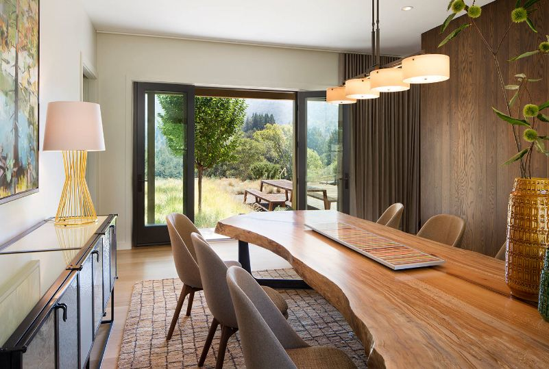 Nature S Charm Captured In Live Edge Dining Tables