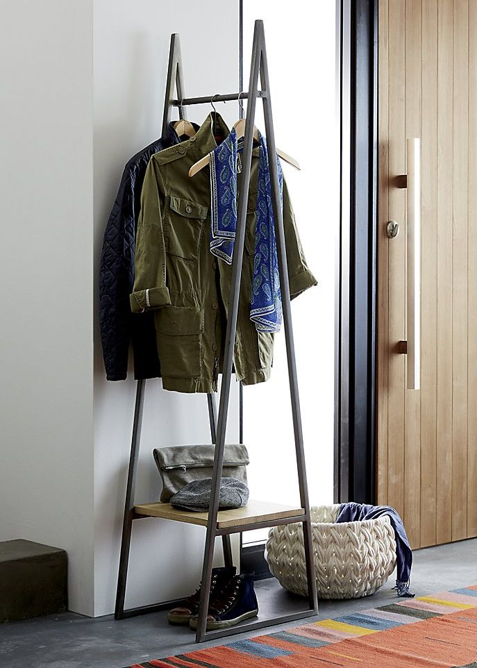 Chic and Practical DIY Clothes Racks That Put Your Wardrobe On Display images 12