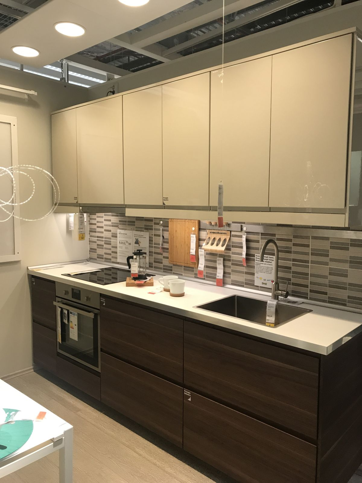 Create a stylish space starting with an ikea kitchen design Ikea kitchen fitting cost