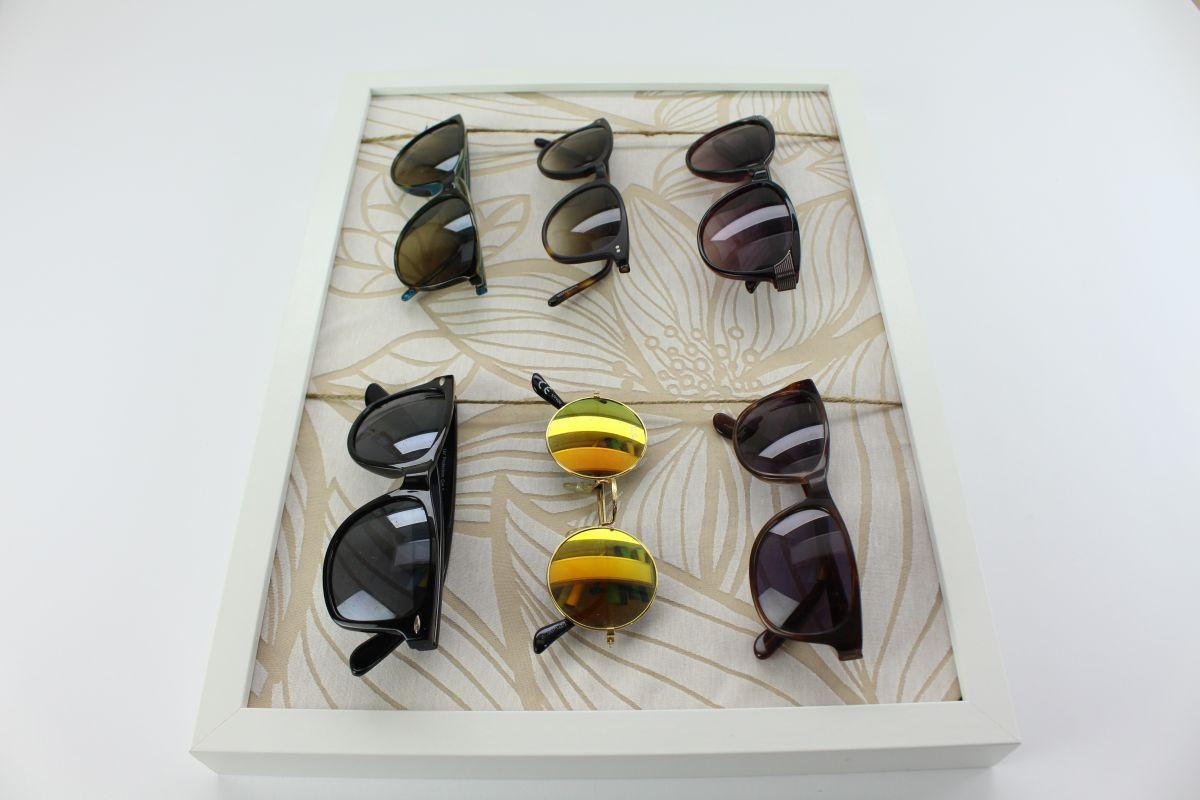 How to make a sunglass holder
