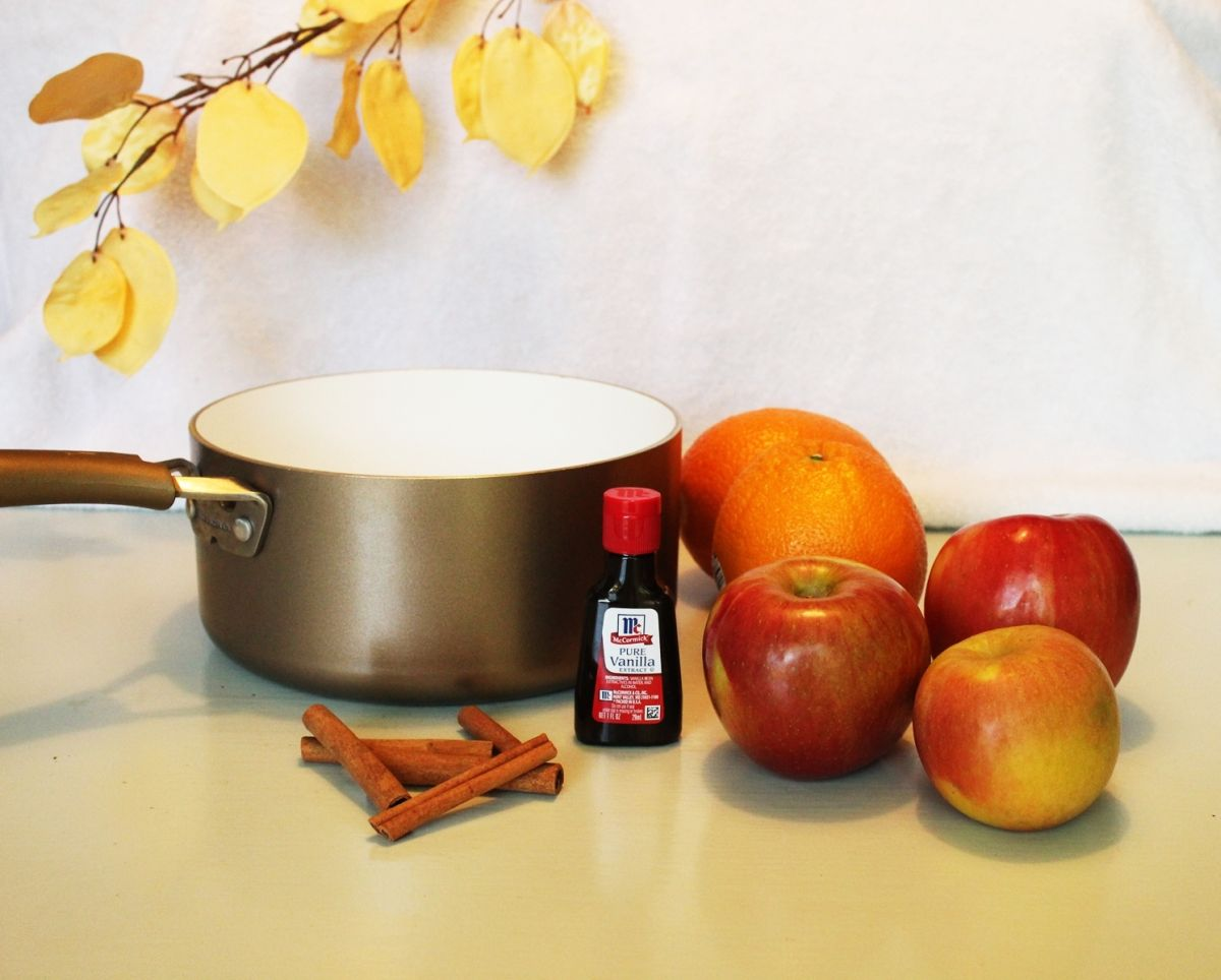 DIY Autumn Aromas - fall simmer pot