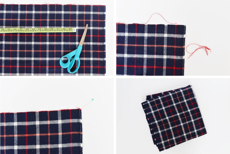 Diy Flannel Blanket Scarf