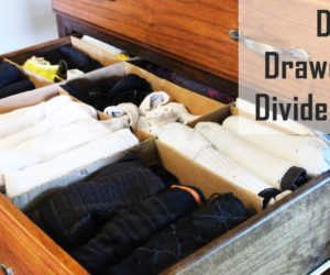 DIY Drawer Dividers in 15 Minutes or Less