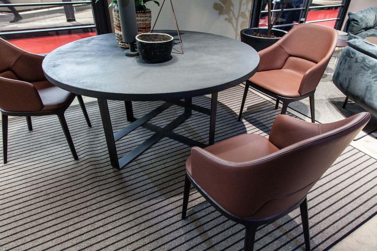 Astounding Leather Dining Chairs Prove Elegance Is Timeless Caraccident5 Cool Chair Designs And Ideas Caraccident5Info