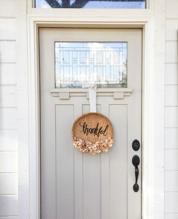 DIY Basket Wreath