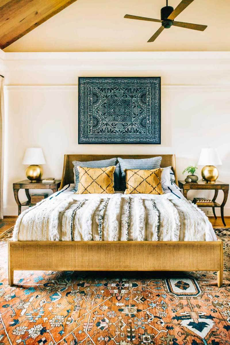 40 Bohemian Bedrooms To Fashion Your Eclectic Tastes After on Modern Bohemian Bedroom Decor  id=93235