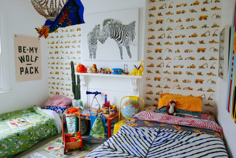 10 Wallpapers to Treat Your Kid's Bedrooms