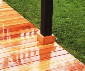 How to Install a Redwood Deck Floor
