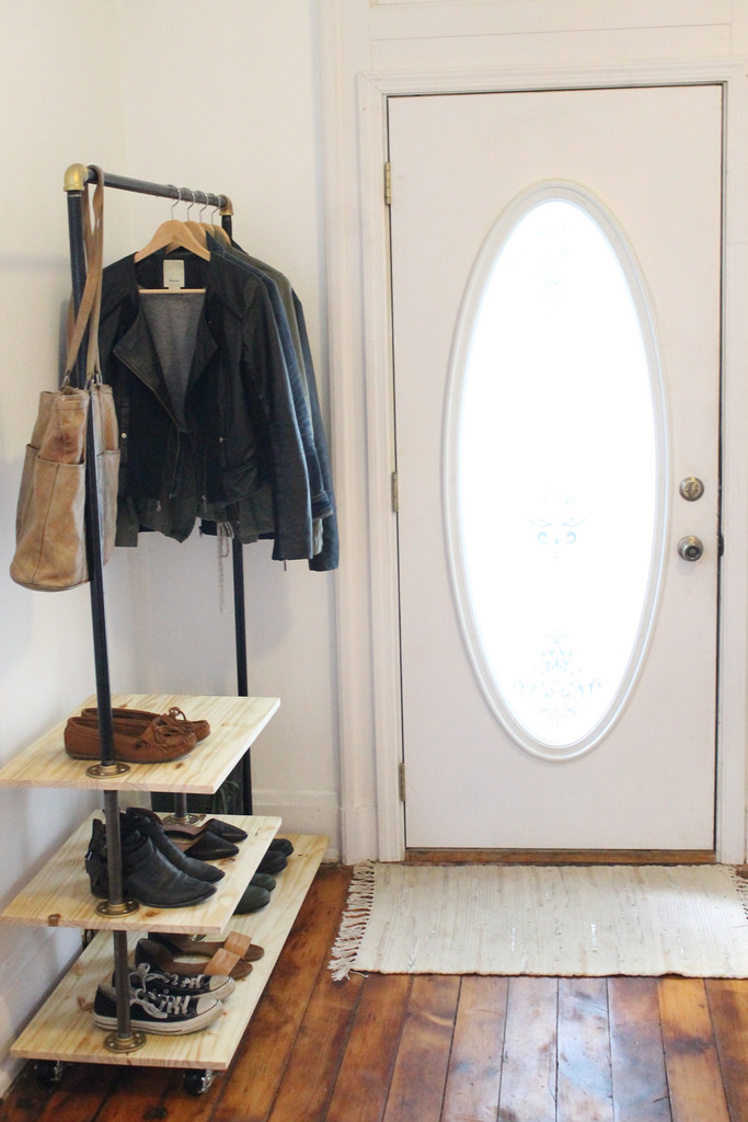 Chic And Practical Diy Clothes Racks That Put Your