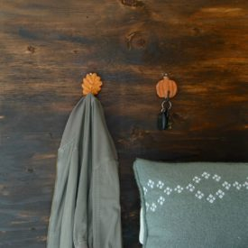 Fall inspired wall hooks