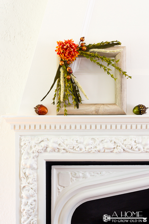 Faux Wood Fall Picture Frame