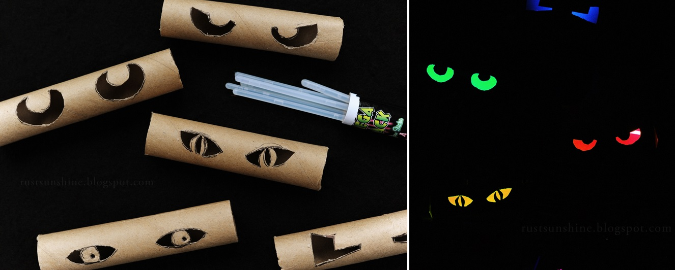 From toilet paper tubs to Halloween glowing eye - Scary Halloween Decorations That'll Give You The Jitters