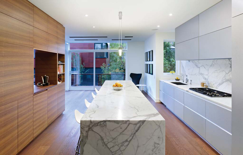 Marble Backsplash Inspiration In The Context Of Designer Homes