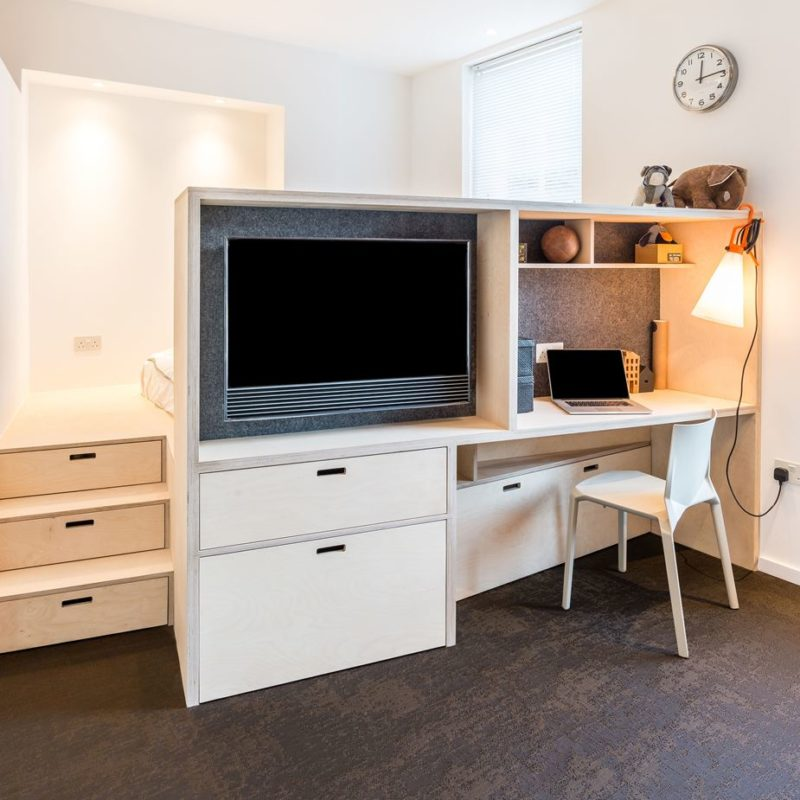 Small Studio Apartment Big Enough For Four