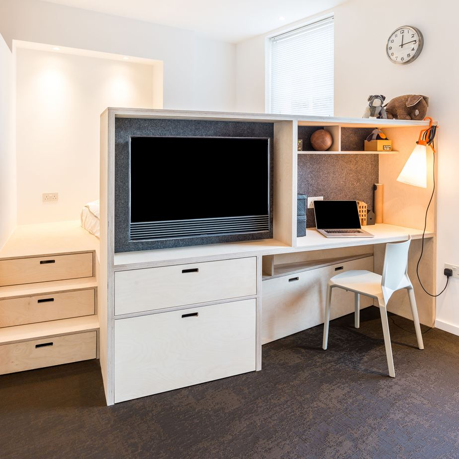 Given The Reduced Floor Area Apartment Had To Be Furnished With Custom Pieces