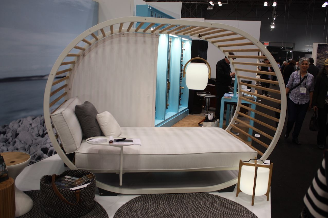 A daybed is the ultimate outdoor lounging luxury.