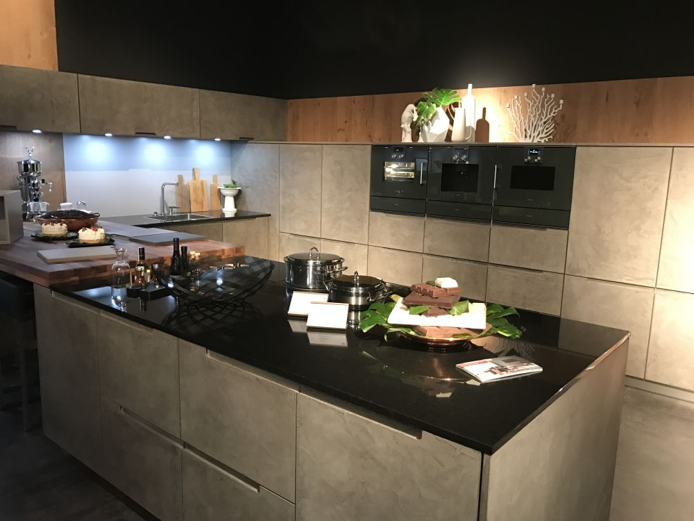 You should be able to incorporate everything you need in a U-shaped kitchen, even a small one