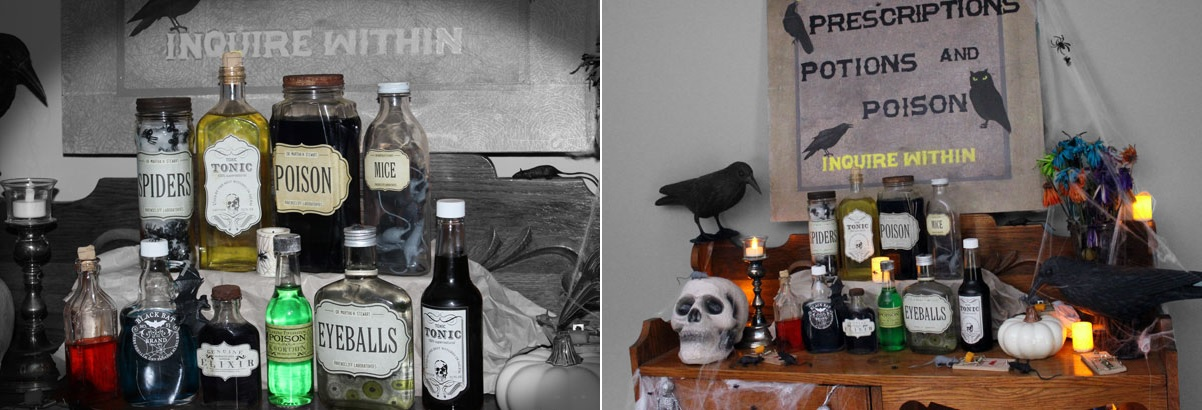 Halloween Scarry Bar Decor - Scary Halloween Decorations That'll Give You The Jitters