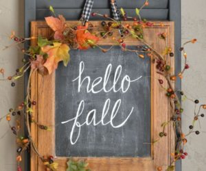 15 Fall Wreath DIYs – For The Love Of Autumn