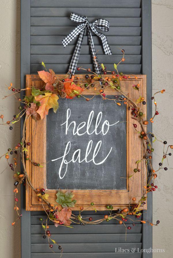 15 Fall Wreath DIYs – For The Love Of Autumn