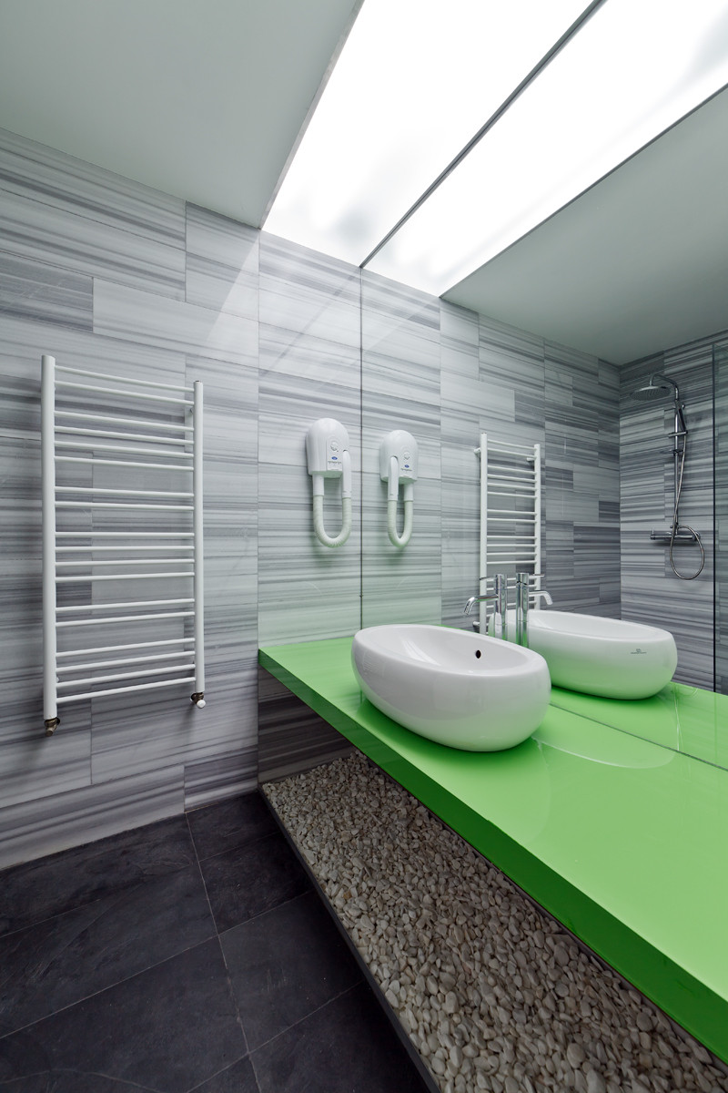 There's a zen-like ambiance combined with modern sophistication throughout the hotel