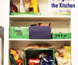 How to Declutter the Kitchen: One Cupboard's Organizational Journey