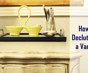 How to Declutter a Vanity