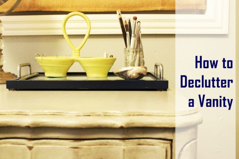 How to Declutter a Vanity