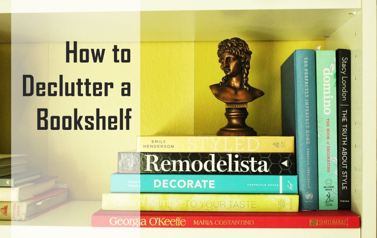 How To Declutter A Bookshelf Without Losing Its Personality Photo