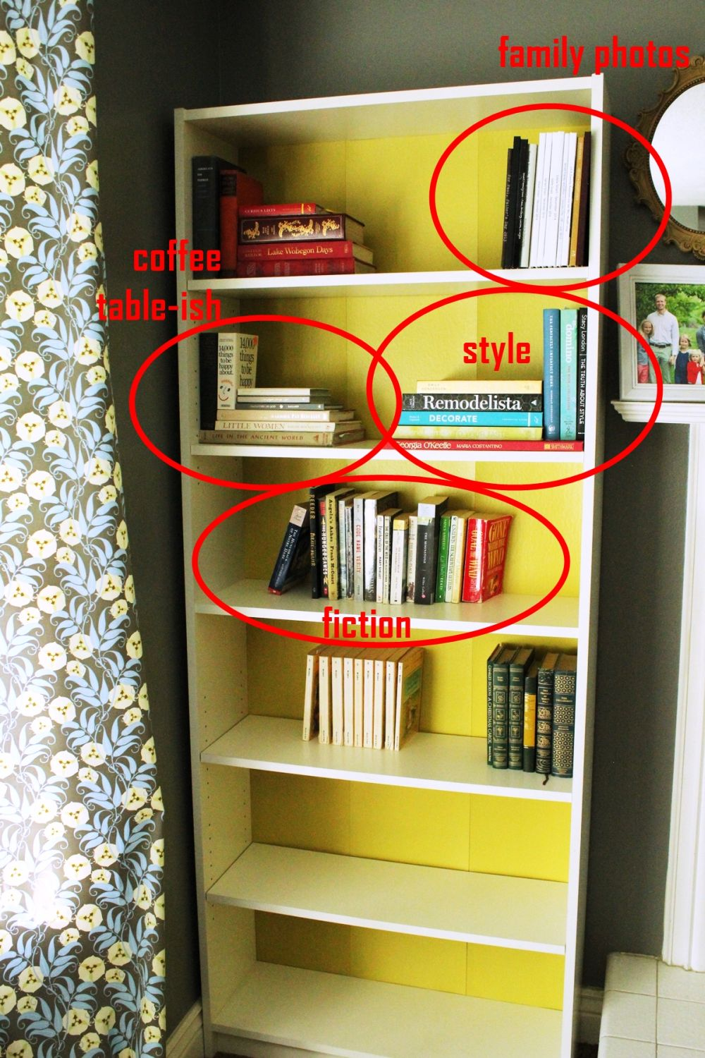 How To Declutter A Bookshelf Without Losing Its Personality